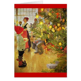Christmastime otra vez tarjetón