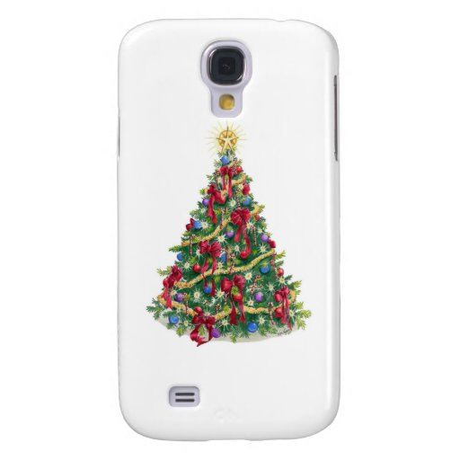 ChristmasTree/Holiday Tree Galaxy S4 Covers
