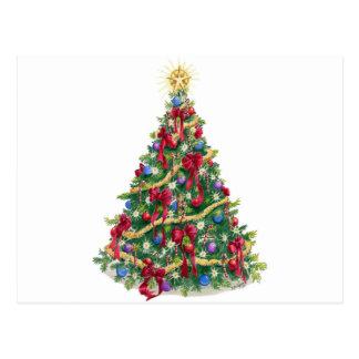 ChristmasTree/Holiday Tree Postcard
