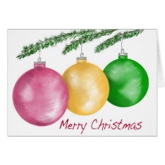 CHRISTMS CARD at Zazzle