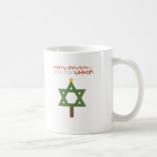 CHRISTMUKKAH TREE COFFEE MUG