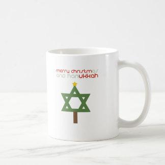 CHRISTMUKKAH TREE COFFEE MUG