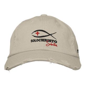 "Christo a solas ""series de la salvación "" gorras de beisbol bordadas"