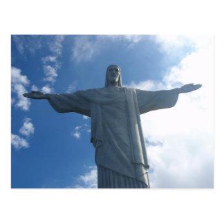 Christo el Brasil Postal