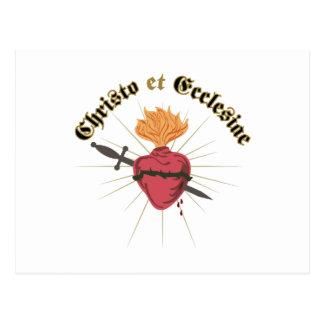 Christo Et Ecclesiae Postcard