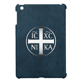 Christogram ICXC NIKA Jesus Conquers Cover For The iPad Mini