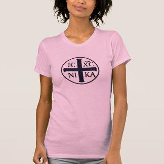 Christogram ICXC NIKA Jesus Conquers Religious T-Shirt