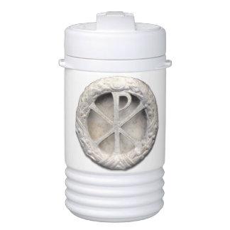 Christogram romano refrigerador de bebida igloo