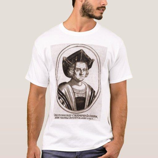 Christoph columbus t shirt zazzle for Columbus ohio t shirt printing