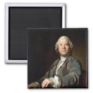 Christoph Willibald Gluck  at the spinet, 1775 Fridge Magnets