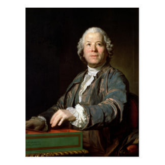 Christoph Willibald Gluck  at the spinet, 1775 Postcards