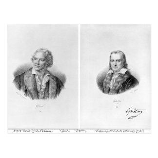 Christoph Willibald von Gluck  and Andre Postcard