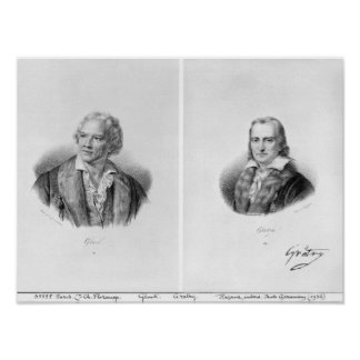 Christoph Willibald von Gluck  and Andre Poster