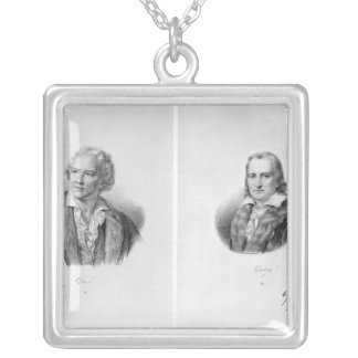 Christoph Willibald von Gluck  and Andre Silver Plated Necklace