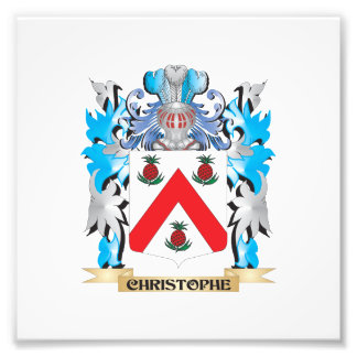 Christophe Coat of Arms - Family Crest Photo