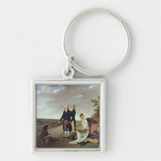 Christophe-Philippe Oberkampf and family Keychains