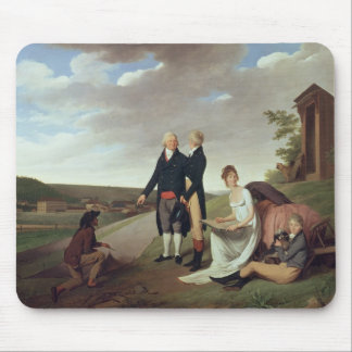 Christophe-Philippe Oberkampf and family Mouse Pad
