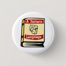 Christopher Alexander A Pattern Language Book Pin