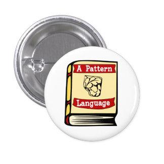 Christopher Alexander A Pattern Language Book Pin