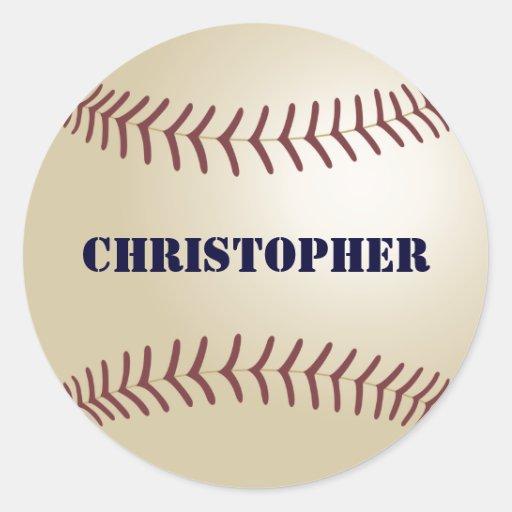 Christopher Baseball Sticker / Seal