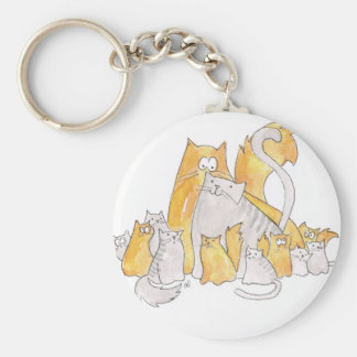Christopher Cat and his Marvelous family Keychain