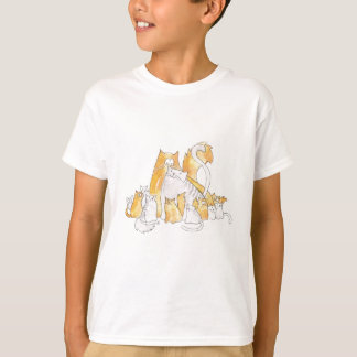 Christopher Cat and his Marvelous family T-Shirt