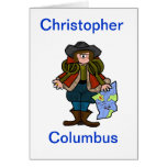 Christopher Columbus Greeting Card - Directions