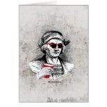 Christopher Columbus Party Animal Greeting Card