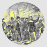 Christopher Columbus Round Sticker