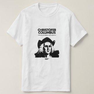 Christopher Columbus White T-Shirt