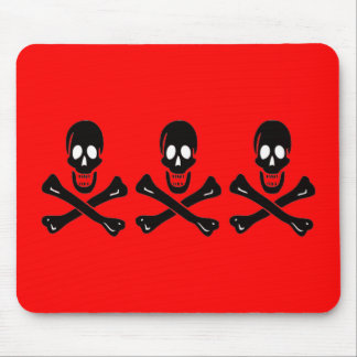 Christopher Condent-Black Mouse Pad
