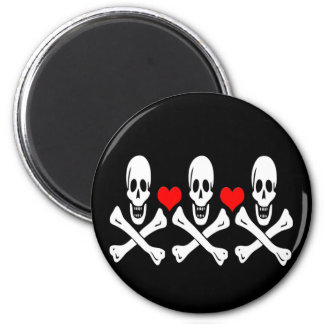Christopher Condent-Hearts 2 Inch Round Magnet