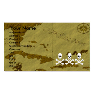 Christopher Condent Map #3 Double-Sided Standard Business Cards (Pack Of 100)
