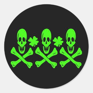 Christopher Condent-Shamrock Classic Round Sticker
