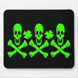 Christopher Condent-Shamrock Mouse Pad
