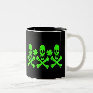 Christopher Condent-Shamrock Two-Tone Coffee Mug