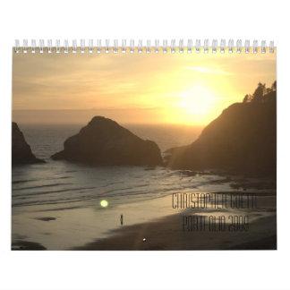 Christopher Goettl Portfolio 2009 Calendar
