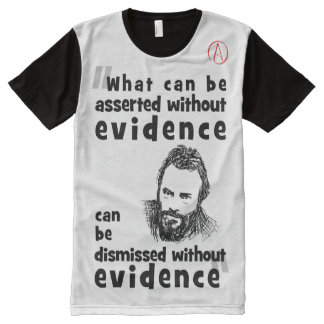 Christopher Hitchens Quote All-Over-Print Shirt