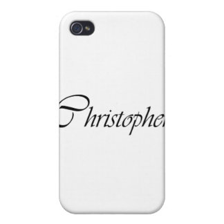 Christopher iPhone 4/4S Cases