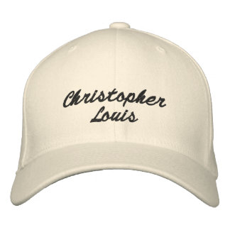 Christopher Louis Embroidered Baseball Cap