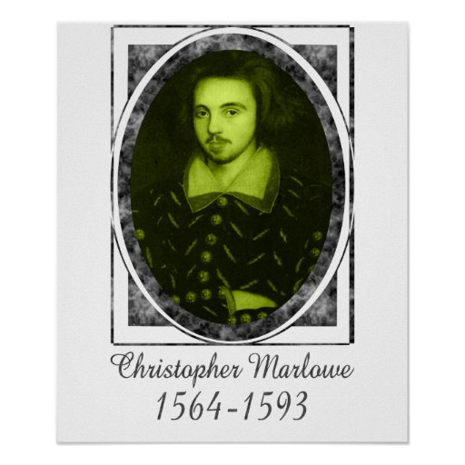 Christopher Marlowe Poster