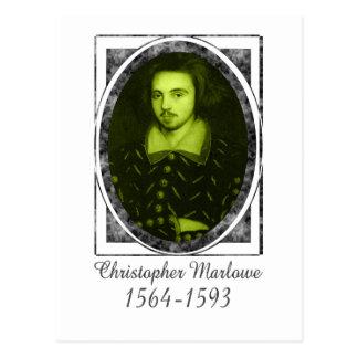 Christopher Marlowe Tarjeta Postal