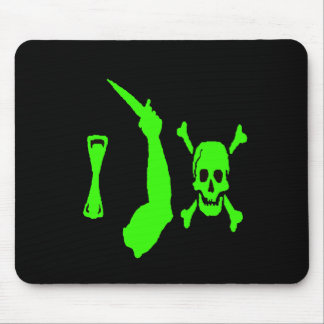 Christopher Moody-Green Mouse Pad