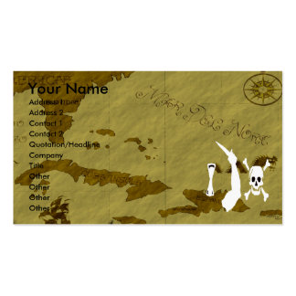 Christopher Moody Map #8 Double-Sided Standard Business Cards (Pack Of 100)