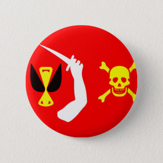 Christopher Moody pirate flag Button