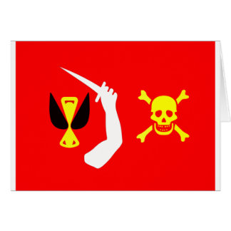 Christopher Moody pirate flag Card