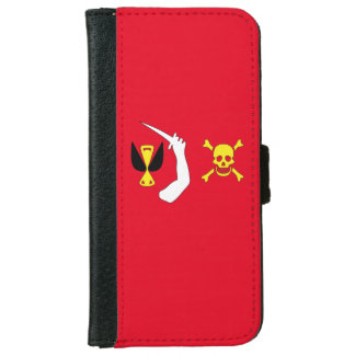 Christopher Moody Pirate Flag iPhone 6/6s Wallet Case