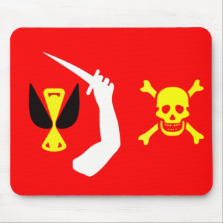 Christopher Moody pirate flag Mouse Pad