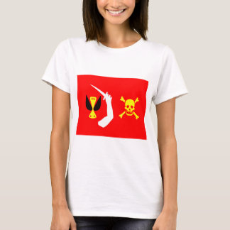 Christopher Moody pirate flag T-Shirt