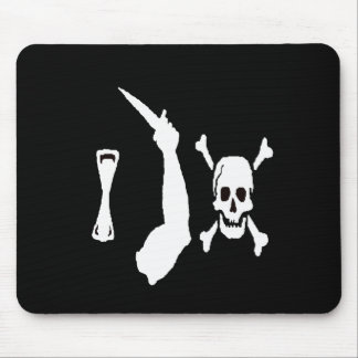 Christopher Moody-White Mouse Pad